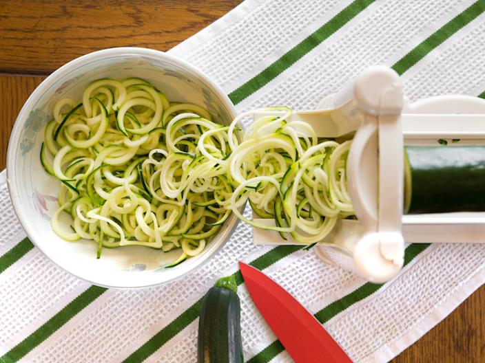 zoodles vegetable spiralizer zucchini