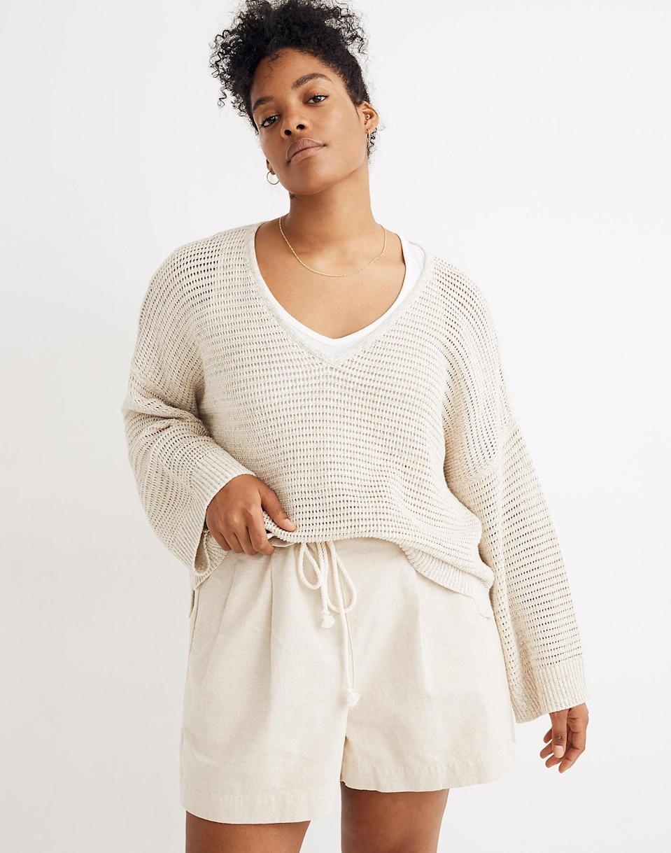 Rainbow Marled Seville Pullover Sweater (Photo: Madewell)