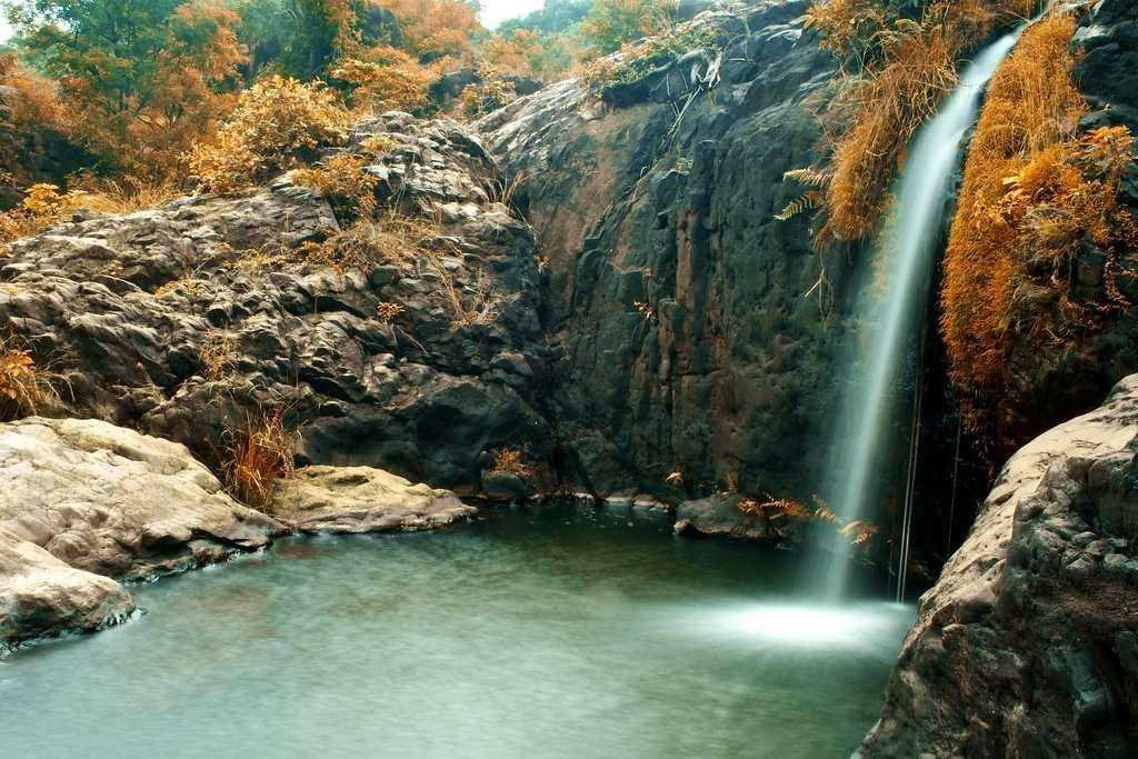 """The picturesque Agasthiyar Falls in Tirunelveli district of Tamilnadu. The falls are located about 4 km from the famous Papanasam Shiva temple. <br><br>By <a target=""""_blank"""" href=""""https://www.flickr.com/photos/exploring_india/"""">Exploring India</a> <br>"""
