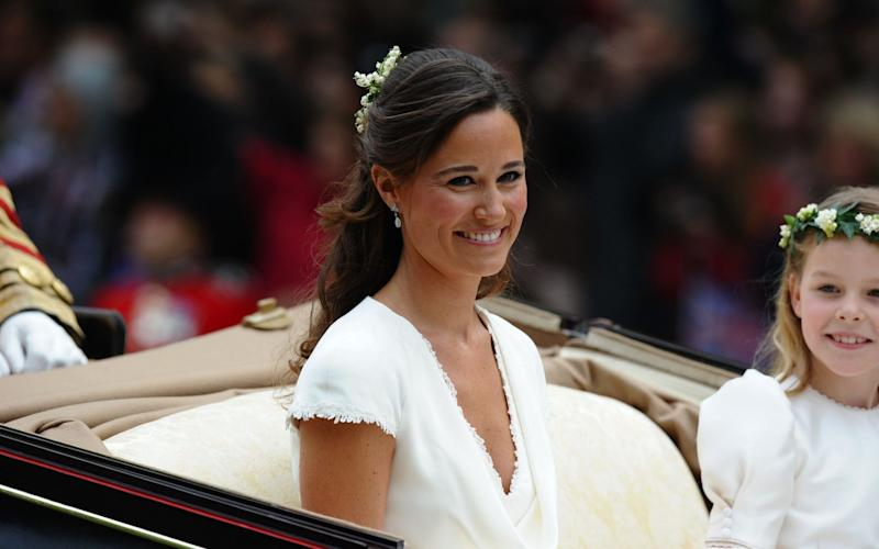 Pippa Middleton is to marry this weekend - AFP