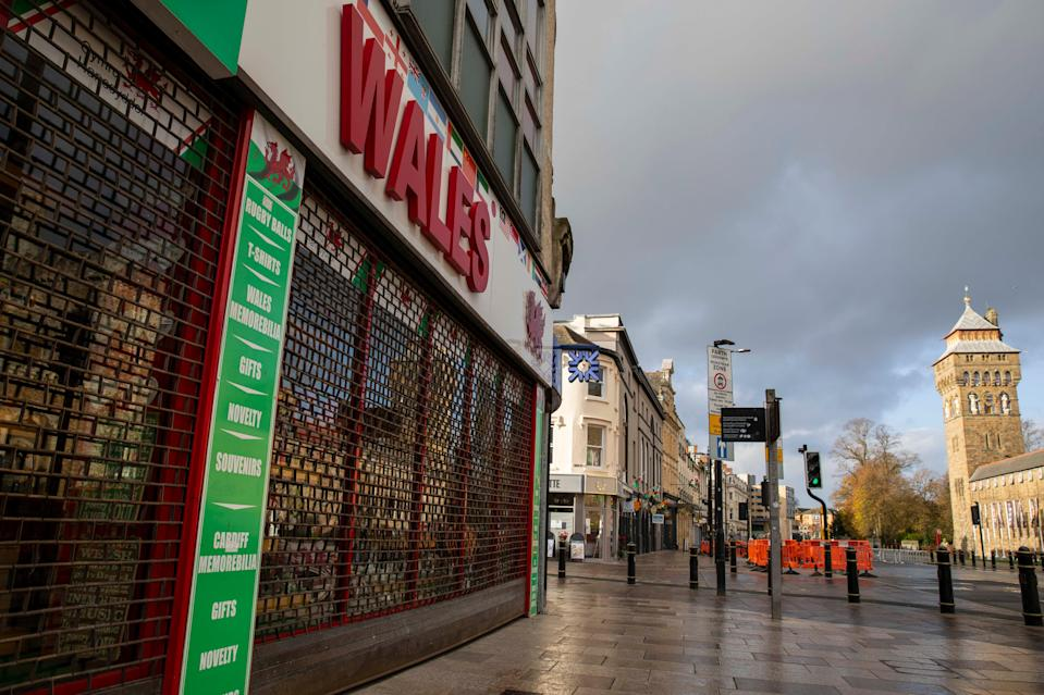<p>Cinemas, bingo halls, skating rinks and casinos in Wales will also be ordered to shut</p> (Barcroft Media via Getty Images)