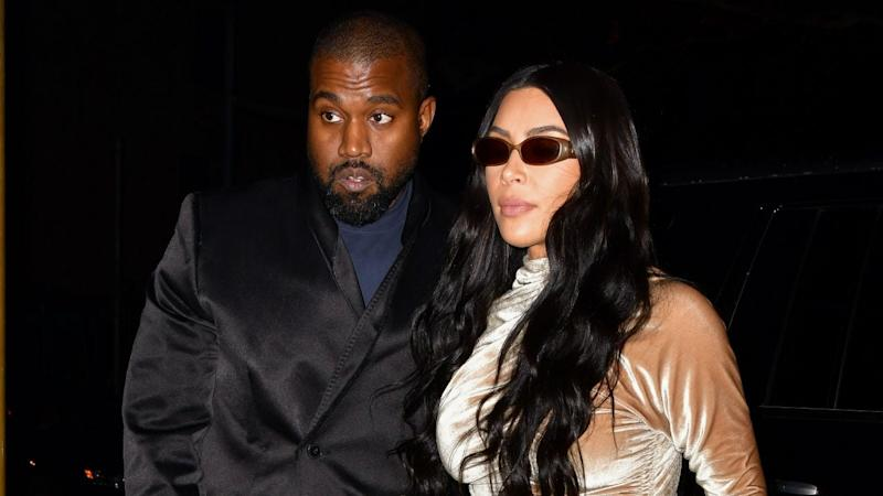 Kim Kardashian and Family Put Your Matching PJ Pics to Shame With Their Christmas Eve Party Looks