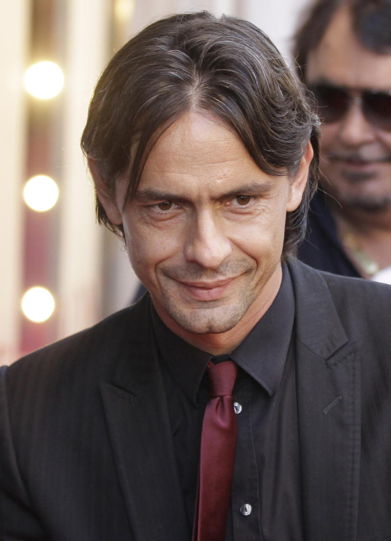 Milan fires Seedorf and replaces him with Inzaghi