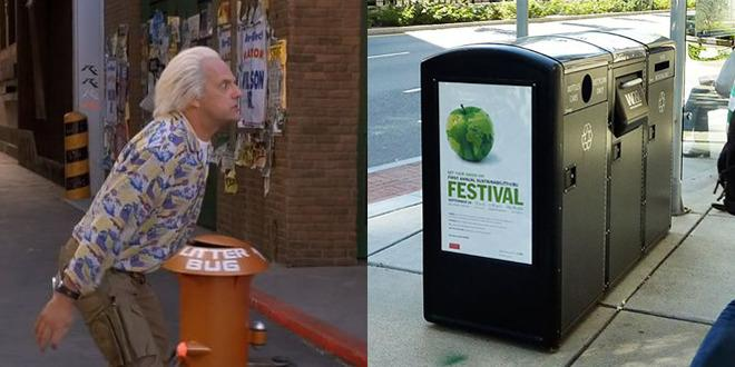 Hi-Tech Trashcans