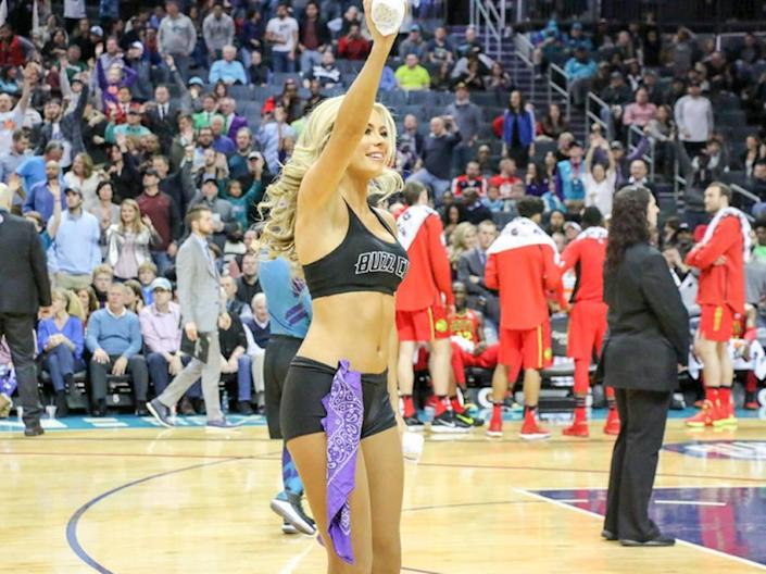 Laura Little was a Charlotte Hornets Honey Bee and eventually became Miss North Carolina USA in 2019. In December 2020, she married American tennis player Jack Sock.