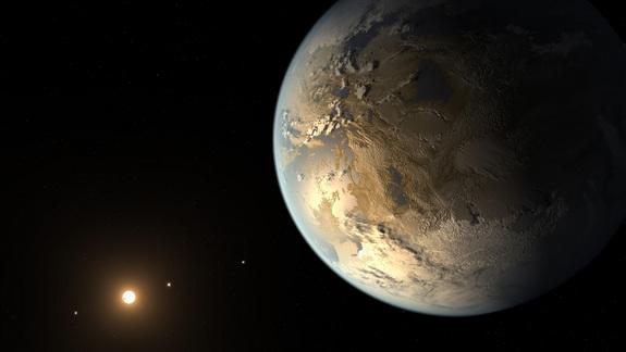 Kepler-186f, the first Earth-size planet orbiting in the habitable zone of its star, is just one of the many potentially habitable planets in a galaxy teeming with satellites.