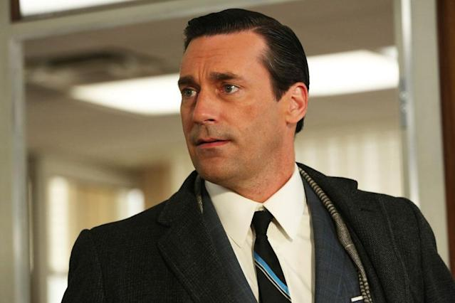 "Don Draper (Jon Hamm) in Part 2 of the ""Mad Men"" Season Premiere, ""The Doorway."""