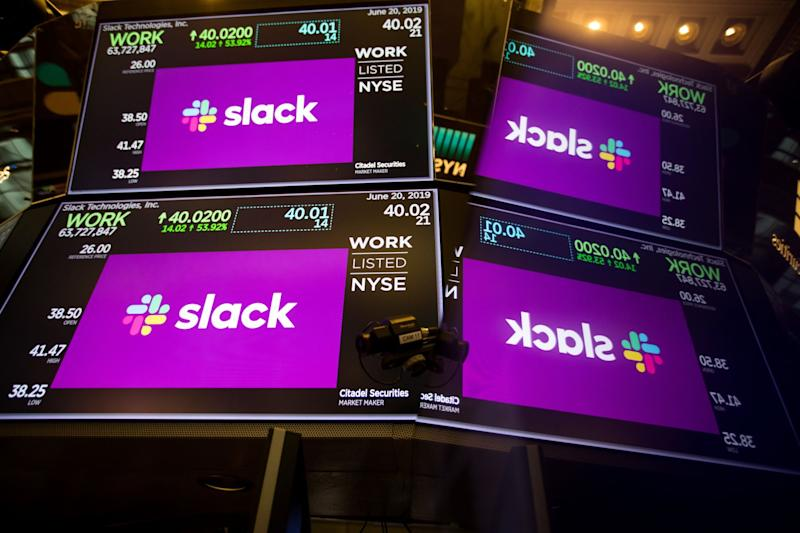 Slack Falls After Projecting Slower Second-Half Sales Growth