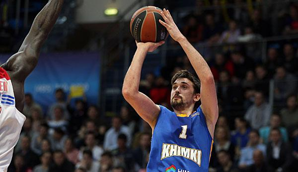 Basketball: Shved ist Eurocup MVP