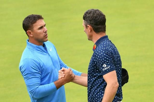 Koepka and Rose are both seven shots back on nine-under (AFP Photo/Andy BUCHANAN)