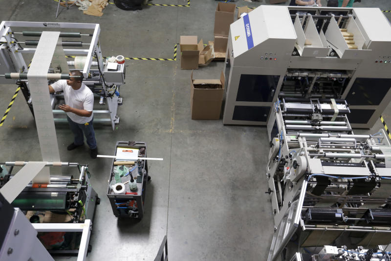 United States manufacturing growth slows again in July | AP business