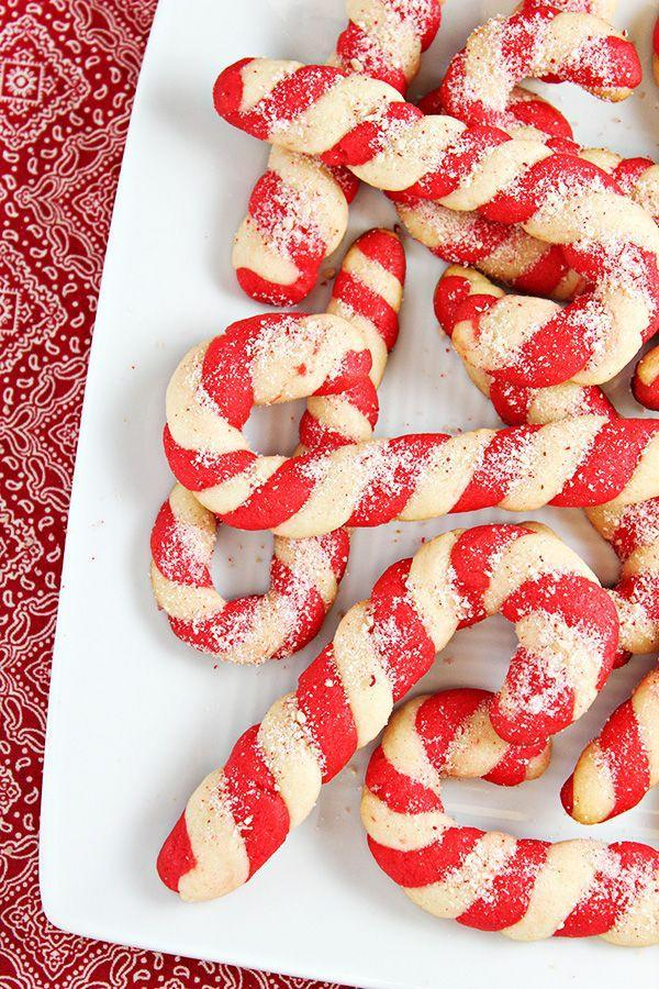 """<p>If you're involved in a holiday cookie exchange, you <em>must</em> bake these candy canes. They're sure to stand out from all the other cookies—and will be gone in no time.</p><p><strong>Get the recipe at <a href=""""https://homecookingmemories.com/candy-cane-cookies-recipe/"""" rel=""""nofollow noopener"""" target=""""_blank"""" data-ylk=""""slk:Home Cooking Memories"""" class=""""link rapid-noclick-resp"""">Home Cooking Memories</a>.</strong></p><p><strong><a class=""""link rapid-noclick-resp"""" href=""""https://www.amazon.com/dp/B0001ZYYP6/?tag=syn-yahoo-20&ascsubtag=%5Bartid%7C10050.g.647%5Bsrc%7Cyahoo-us"""" rel=""""nofollow noopener"""" target=""""_blank"""" data-ylk=""""slk:SHOP STAND MIXERS"""">SHOP STAND MIXERS</a><br></strong></p>"""