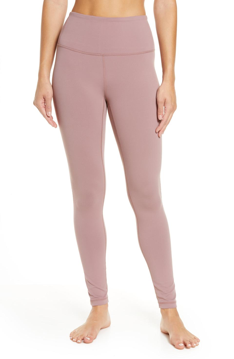 """<p><strong>ZELLA</strong></p><p>nordstrom.com</p><p><a href=""""https://go.redirectingat.com?id=74968X1596630&url=https%3A%2F%2Fwww.nordstrom.com%2Fs%2Fzella-live-in-high-waist-leggings%2F4312529&sref=https%3A%2F%2Fwww.cosmopolitan.com%2Fstyle-beauty%2Ffashion%2Fg33597174%2Fnordstrom-anniversary-sale-2020%2F"""" rel=""""nofollow noopener"""" target=""""_blank"""" data-ylk=""""slk:Shop Now"""" class=""""link rapid-noclick-resp"""">Shop Now</a></p><p>Sadly, this exact color is already sold out, but the black and gray ones are still up for grabs.</p><p><strong><del>$59</del><br>$38</strong></p>"""
