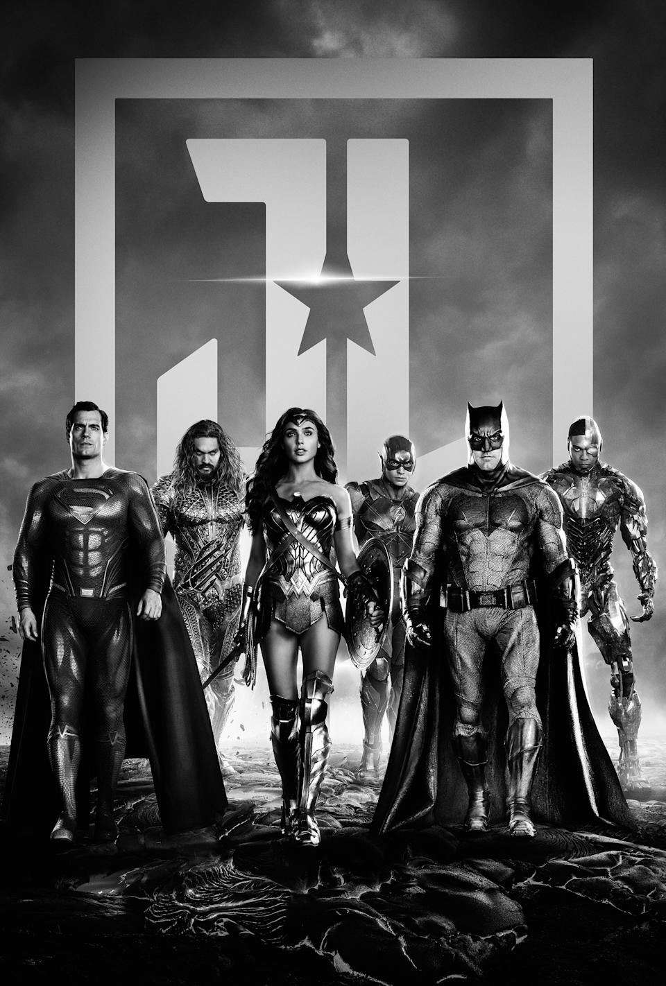 Zack Snyder's Justice League - Key Art - (Warner Bros)