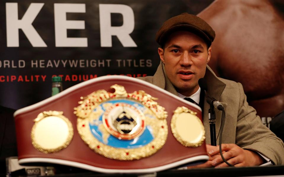 Joseph Parker's trainer, Kevin Barry, believes speed will be the key in Saturday's fight. (Reuters)