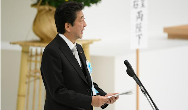 Japanese Prime Minister Shinzo Abe. Photo: Bloomberg