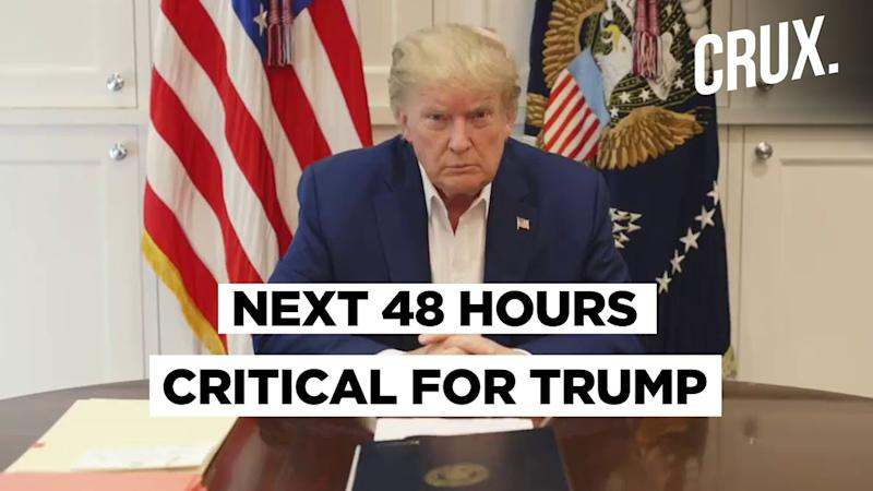 Donald Trump Says He Feels 'Much Better', But Next 48 Hours Critical