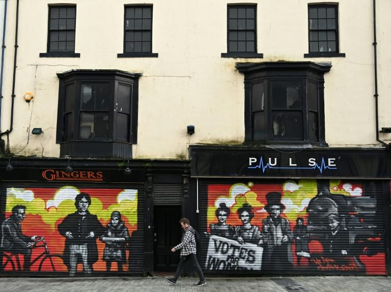 Shuttered shops in Hartlepool, where unemployment nudges double digits