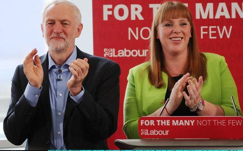 Angela Rayner and Jeremy Corbyn - Credit: Dan Kitwood/Getty Images Europe