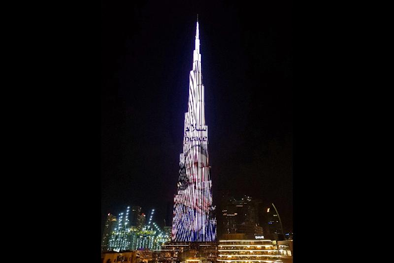 Dubai honors Jacinda Ardern by projecting image onto skyscraper