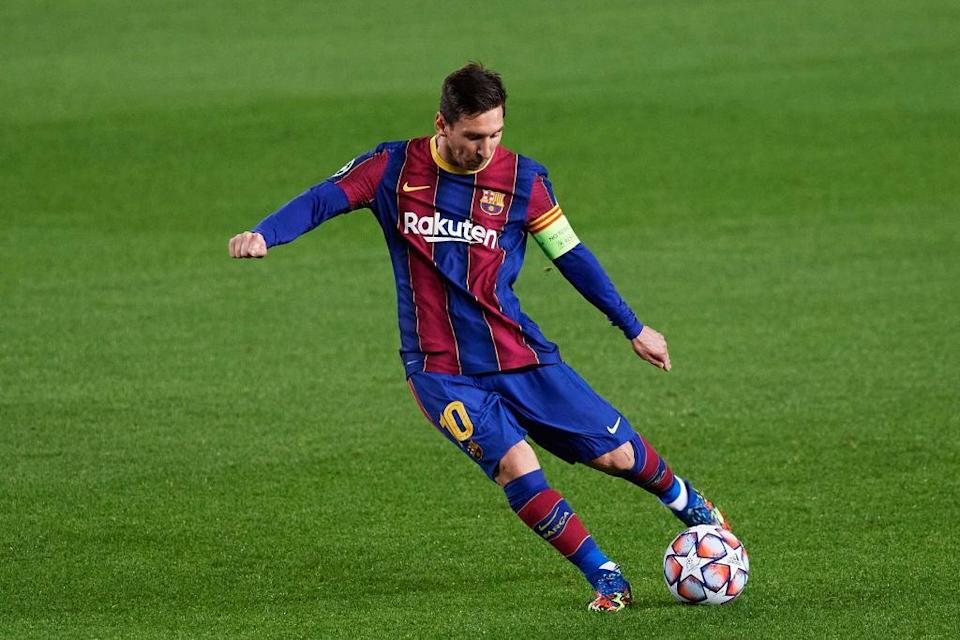 Lionel Messi of FC Barcelona (Getty Images)