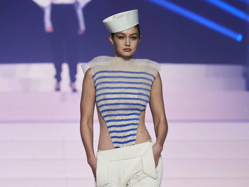 Gigi Hadid credits Jean Paul Gaultier for early runway success