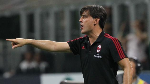 'It's a promising start' - Montella happy with Milan progress