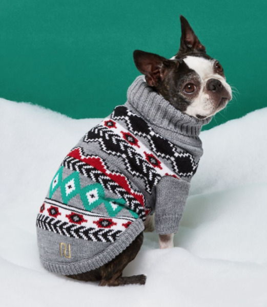Aldi is leading a pack of retailers sellingChristmas jumpers for men, women, children - and dogs.