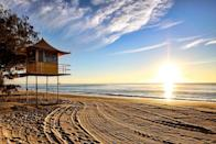 "<p>Known for beaches, theme-parks and relaxation - as well as being the surf capital of Australia - the Gold Coast's long sandy beaches and sunshine are perfect following the stress of wedding planning. It's <a href=""https://www.booking.com/hotel/au/avani-broadbeach-residences-gold-coast12.en-gb.html"" rel=""nofollow noopener"" target=""_blank"" data-ylk=""slk:apparently"" class=""link rapid-noclick-resp"">apparently</a> 34% more affordable to stay in February than it is compared with the most expensive month - and when it'll be cold here, it's even more of an excuse to go.</p>"