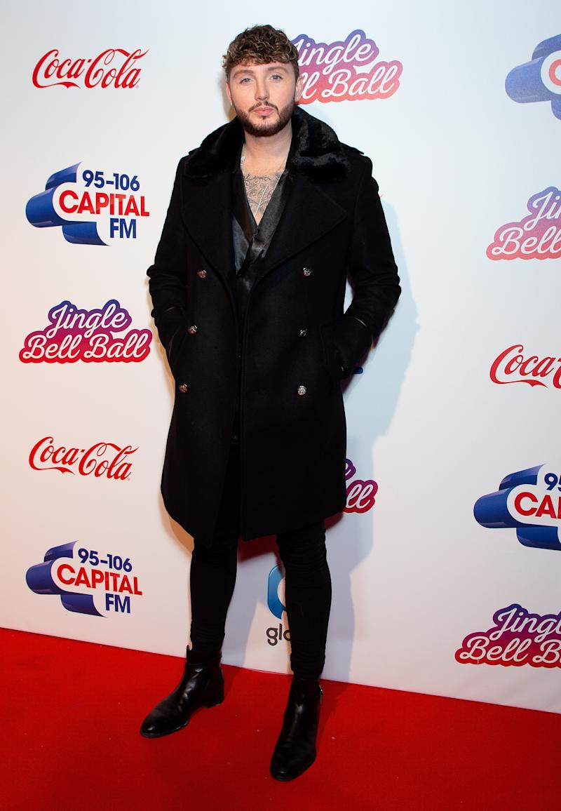 James Arthur attends the Capital FM Jingle Bell Ball at The O2 Arena on December 08, 2018 in London, England. (Photo by Jo Hale/Redferns)