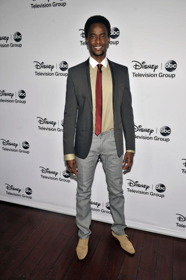 "Edi Gathegi (""Family Tools"") attends the Disney ABC Television Group 2013 TCA Winter Press Tour at The Langham Huntington Hotel and Spa on January 10, 2013 in Pasadena, California."