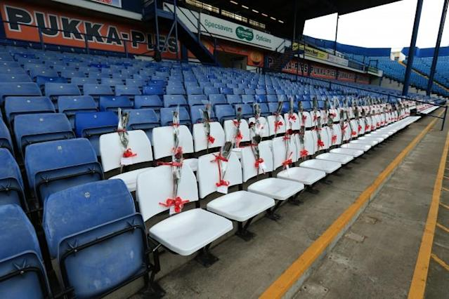 Sheffield Wednesday's touching tribute to Hillsborough victims: 96 roses