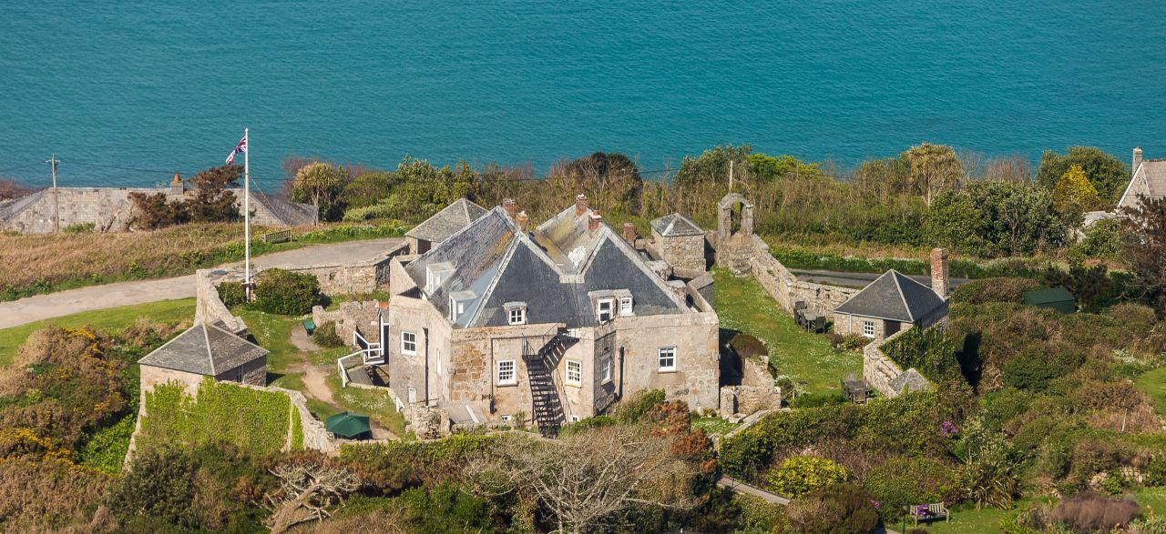 """<p>Saying """"I do"""" in a venue with star-shaped walls will surely make for a stellar marriage. Perched next to the sea on the Isles of Scilly, the 16th-century<a href=""""http://star-castle.co.uk/weddings/""""> Star Castle Hotel</a> overlooks the beautiful harbour of St Mary's and is licensed for weddings for up to 40 people in the vine-clad Conservatory. Packages include bubbly and high tea and come in at £20 per head, but there's an additional cost of £300 for room hire. [Photo: Star Castle]</p>"""