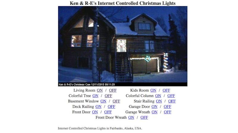 Alaska Family Lets Anyone on the Internet Control Their Christmas Lights