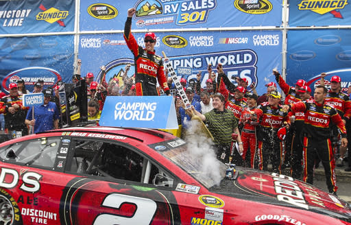 Keselowski dominates in New Hampshire victory