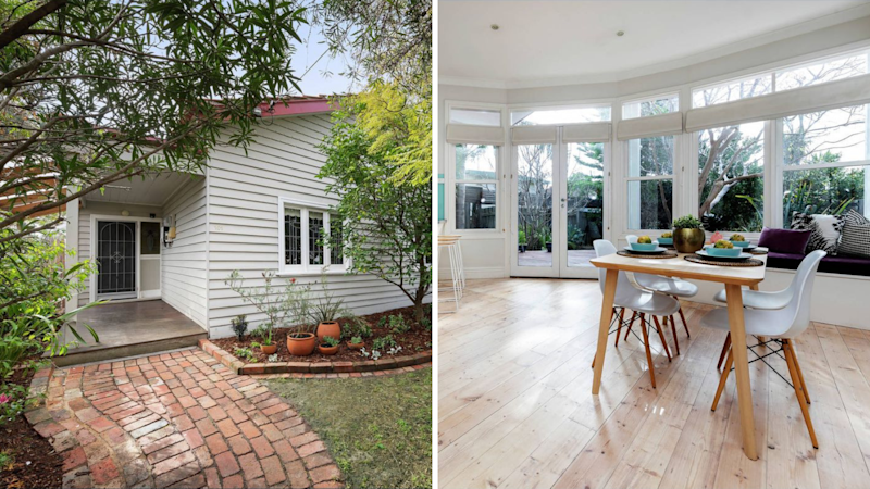 The dreamy Melbourne house Aussies have been looking at all weekend. (Source: Getty)