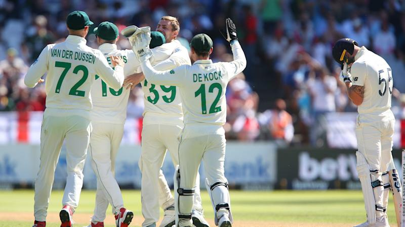 Proteas on top at Newlands after England collapse