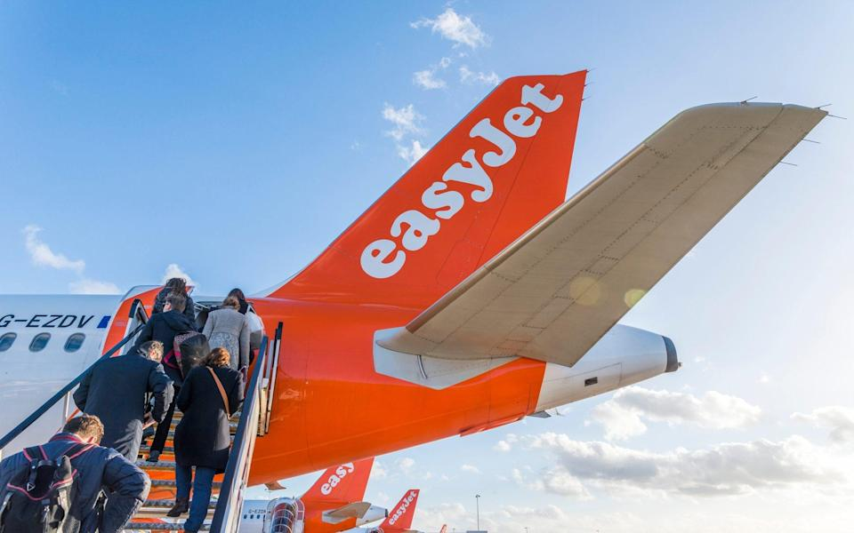 EasyJet will soon charge passengers for all bags that don't fit underneath the seat in front - iStock