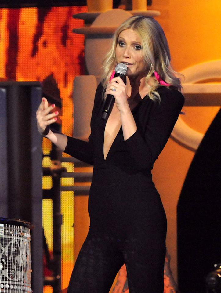 """Several outlets, including AOL Music, are reporting that Gwyneth Paltrow """"signed her first-ever record deal"""" with Atlantic Records, following her strong musical performances in """"Country Strong"""" and on """"Glee."""" According to the site, Paltrow """"signed a contract worth approximately $900,000."""" For how soon Paltrow plans to release her first album and what type of music it will feature, check out what her rep exclusively tells <a href=""""http://www.gossipcop.com/gwyneth-paltrow-record-deal-atlantic-900000-dollars/""""target=""""new"""">Gossip Cop</a>. Jeff Kravitz/<a href=""""http://www.filmmagic.com/"""" target=""""new"""">FilmMagic.com</a> - February 13, 2011"""