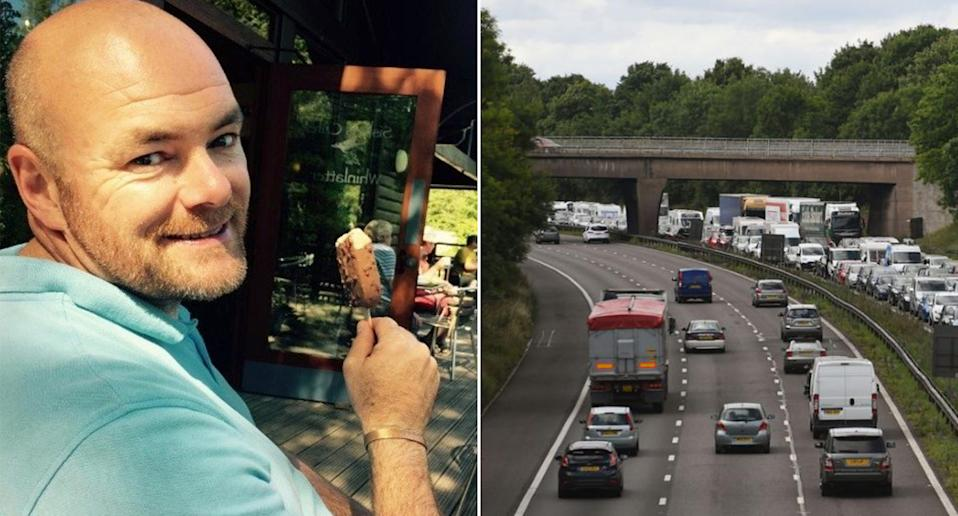 The police officer who died following a collision on the M6 southbound on Sunday has been identified as 47-year-old Police Constable Nick Dumphreys. (Cumbria Police)