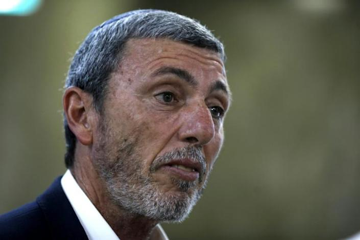 Israeli Education Minister Rafi Peretz has spoken of his belief in therapy to convert gays to heterosexuality (AFP Photo/MENAHEM KAHANA)