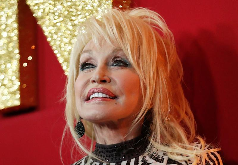 Dolly Parton poses at a premiere for the movie Dumplin' in Los Angeles, California, U.S., December 6, 2018. REUTERS/Mario Anzuoni