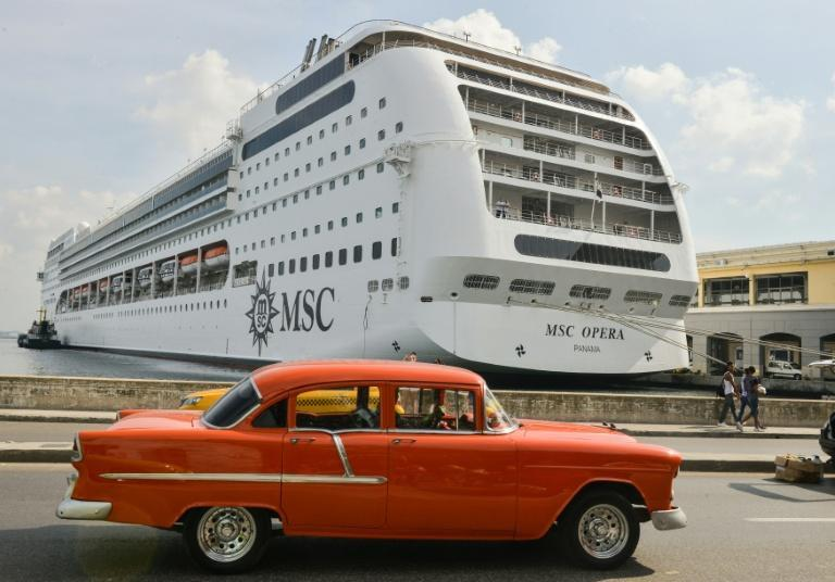 Cuba is now also battling with bottlenecks of tourists, with daily arrivals of huge cruise ships in Havana bay