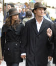 Matthew McConaughey spotted with his fiance out and about in Florence, Italy. The couple are staying at the Savoy Hotel.