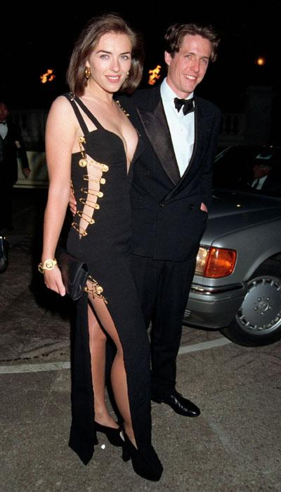 So who looks better: Hurley in the original gown that made her famous or Lady Gaga? (Photo by Dave Benett/Getty Images)