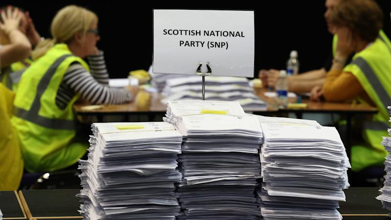 SNP on track for 'best ever' Euro election, as Scottish Labour loses two MEPs