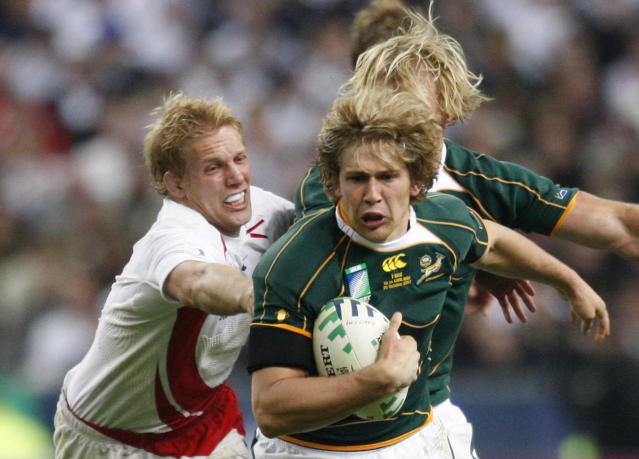 Lewis Moody in the 2007 final (Credit: Getty Images)
