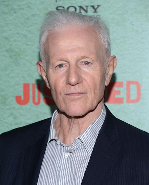"HOLLYWOOD, CA - JANUARY 05:  Raymond Barry attends the Premiere Of FX's ""Justified"" Season 4 at Paramount Theater on the Paramount Studios lot on January 5, 2013 in Hollywood, California.  (Photo by Jason Kempin/Getty Images)"