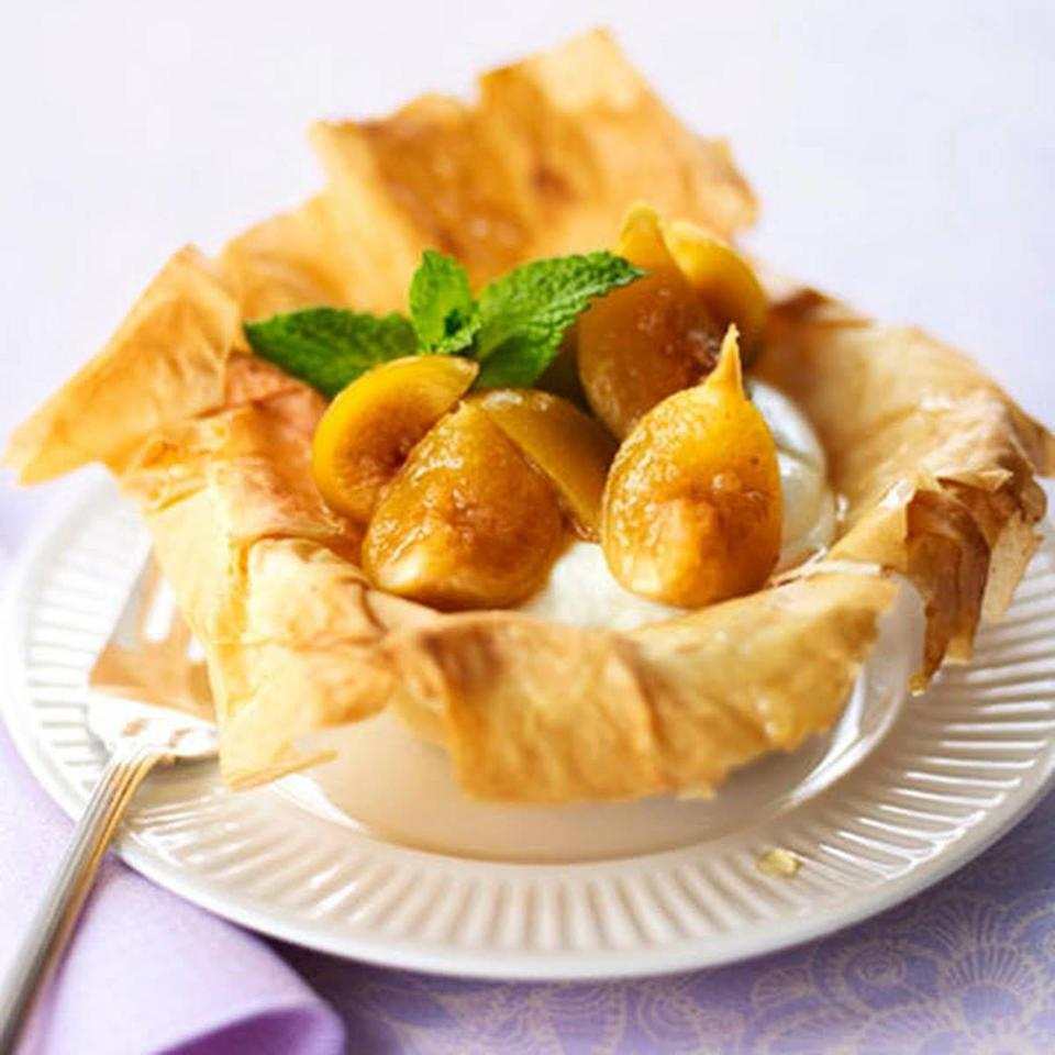 "<p>Juicy, tender figs meet flaky-crisp crust cups in this mouthwatering app.</p><p><em><a href=""https://www.goodhousekeeping.com/food-recipes/a9950/figs-in-phyllo-recipe/"" rel=""nofollow noopener"" target=""_blank"" data-ylk=""slk:Get the recipe for Figs in Phyllo »"" class=""link rapid-noclick-resp"">Get the recipe for Figs in Phyllo »</a></em></p>"