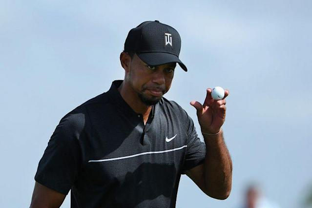 Tiger Woods returned to golf on Thursday. (Getty)